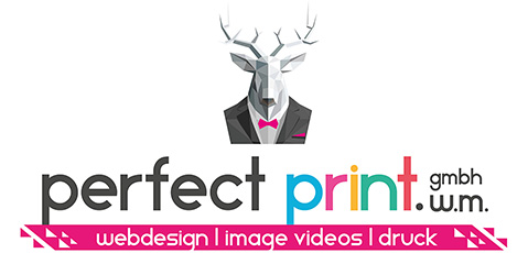 Perfect Print Webdesign Logo